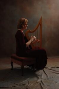 Medieval Gothic harp